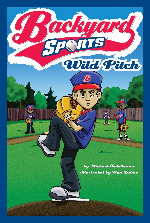 backyard sports book series erik haldi